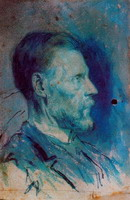 Portrait of father l`artiste