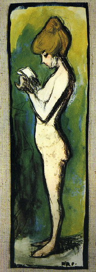 Pablo Picasso. Standing Woman, 1906