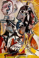 Pablo Picasso. large Head