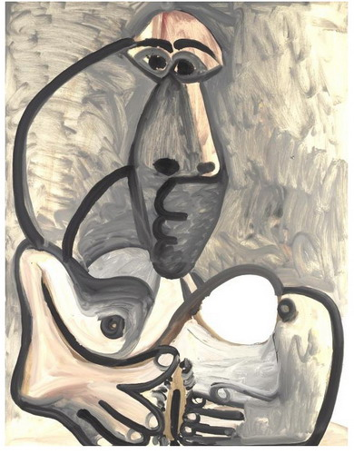 Pablo Picasso. Nude II, 1972