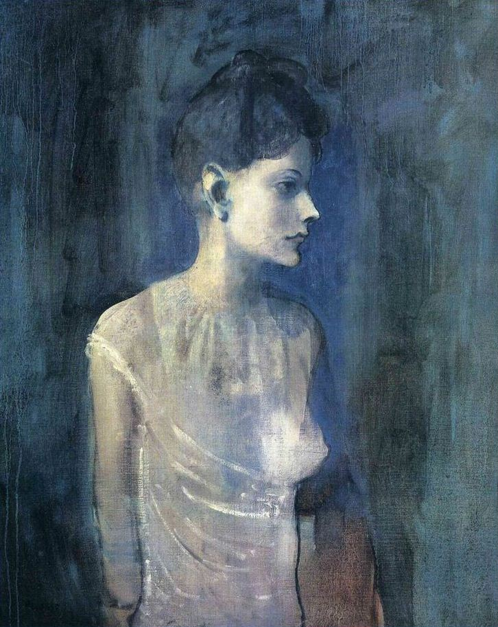 Pablo Picasso. Girl in a Chemise, 1904