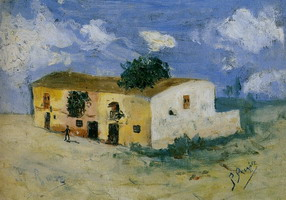 Pablo Picasso. House in the countryside, 1893