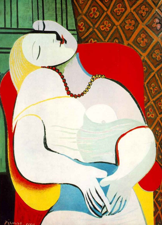 Pablo Picasso. The Dream, 1932