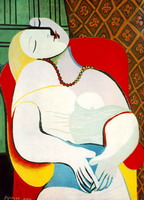 Pablo Picasso. The Dream