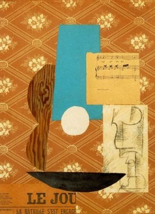 Pablo Picasso Guitar Sheet Music And Glass 1912