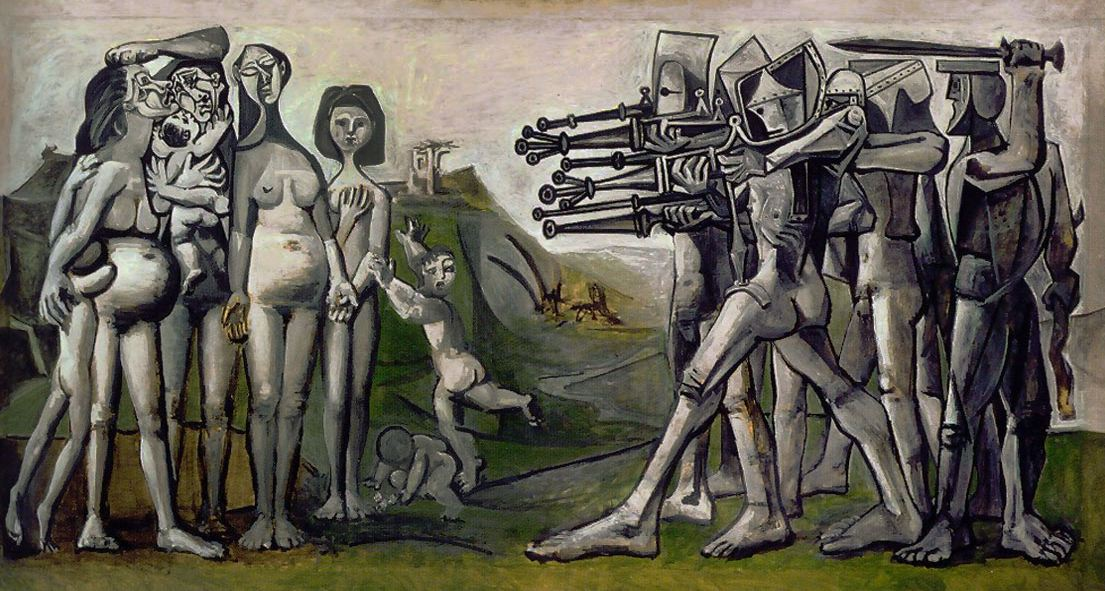 Massacre in Korea (Picasso, 1951)