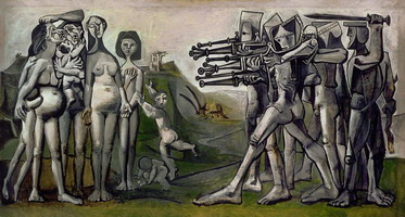 Pablo Picasso. Massacre in Korea, 1951