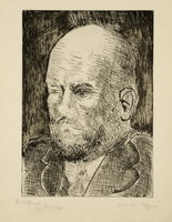 Pablo Picasso. Portrait of Vollard IV
