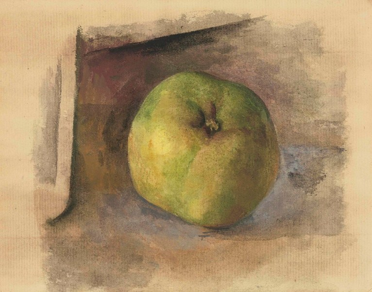 Pablo Picasso. Apple, 1914