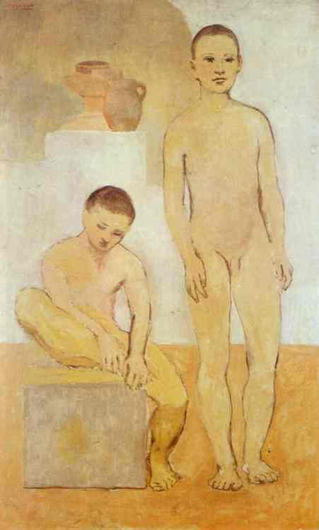 Pablo Picasso. Two Youths, 1905