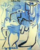 Pablo Picasso. Couple