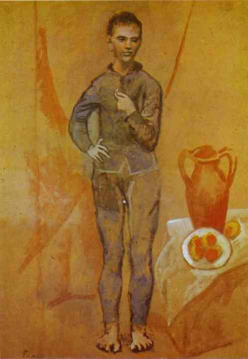 Pablo Picasso. Juggler with Still-Life, 1905