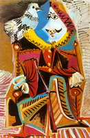 Pablo Picasso. Theme:  Musketeer.