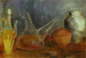 Pablo Picasso. Glassware. Still Life with a Porro, 1906