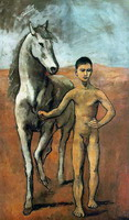 Pablo Picasso. Boy Leading a Horse, 1906