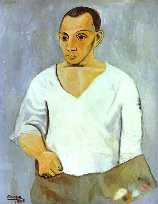 Pablo Picasso. Self Portrait, 1906