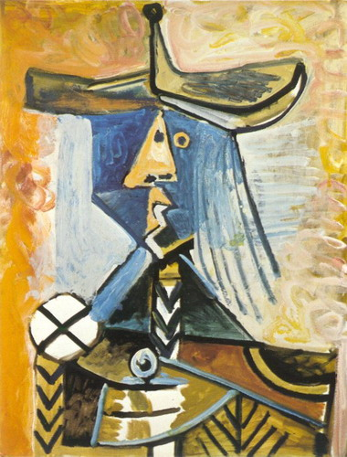 Pablo Picasso. Character, 1971