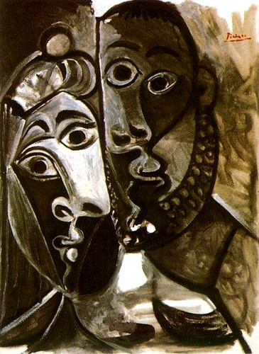 Pablo Picasso. Couple, 1969