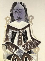 Pablo Picasso. Sitting Musketeer