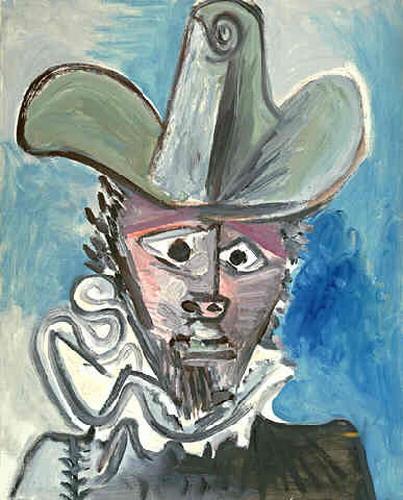 Pablo Picasso. Musketeer II Head, 1972