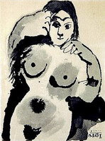 Pablo Picasso. Naked