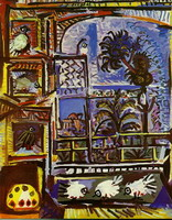 Pablo Picasso. My workshop (Pigeons) IIII