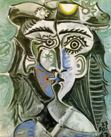 Pablo Picasso. Woman's head with a hat