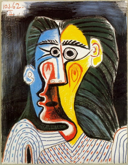 Pablo Picasso. Bust of a Woman II, 1962