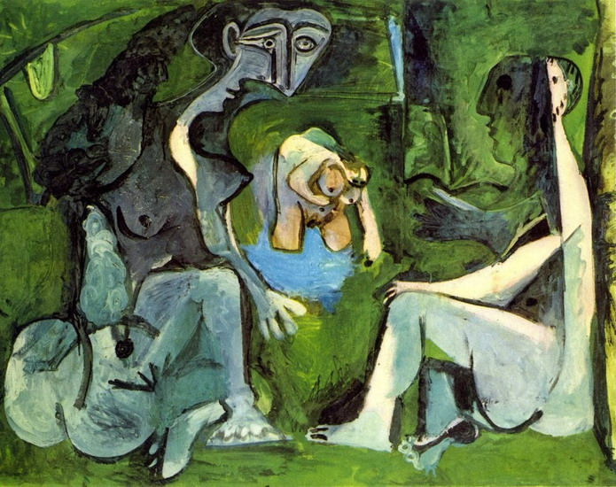 Pablo Picasso. The Luncheon on the grass (Manet) 8, 1961