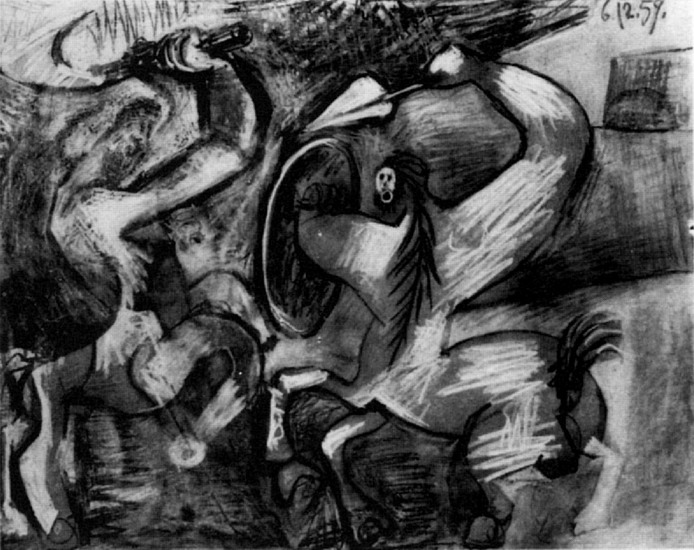 Pablo Picasso. Fighting Centaurs, 1959