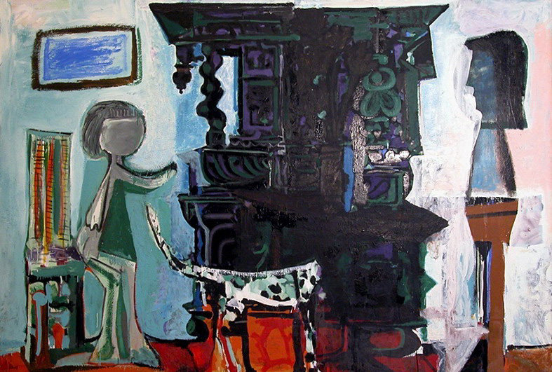 Pablo Picasso. Buffet Vauvenargues, 1959