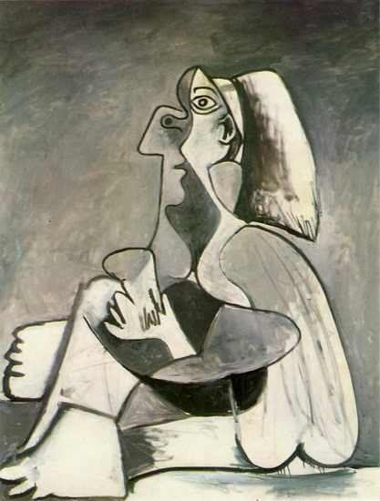 Pablo Picasso. Seated Woman, 1938