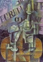 Pablo Picasso. Bottle of Pernod (Table in a Cafe)