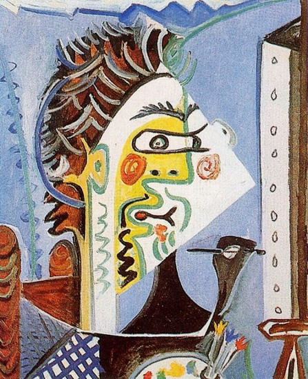 Pablo Picasso. The painter, 1963