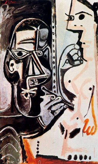 Pablo Picasso. The Artist and His Model 4, 1963