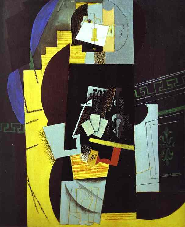 Pablo Picasso. The Card-Player, 1913