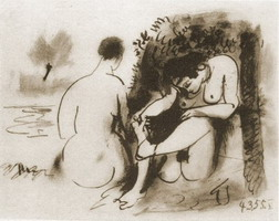 Pablo Picasso. The two naked women V